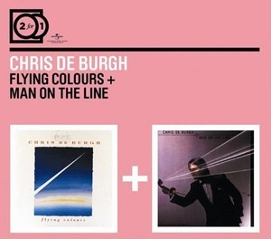 Audio CD Chris De Burgh. Flying colours / Man on the line