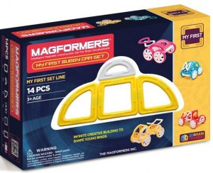 ����� ��������� �����������: Magformers My First Buggy Car Set - Yellow 14 ��������� (63144)