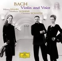 Audio CD Bach. Violin & Voice
