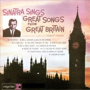 Audio CD Frank Sinatra. Great songs from Great Britain (rem)