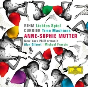 Audio CD Anne-Sophie Mutter. Rihm, Currier, Penderecki. Time Machines
