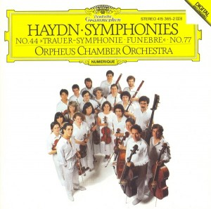 Audio CD Orpheus Chamber Orchestra. Haydn: Symphonies Nos.44 & 77