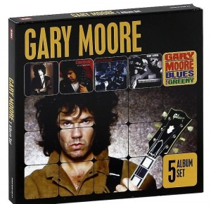 Audio CD Gary Moore. Run For Cover/ After The War/ Still Got The Blues/ After Hours/ Blues For Greeny