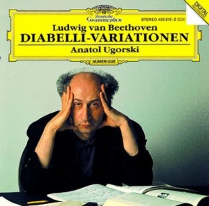 Audio CD Anatol Ugorski. Beethoven: 33 Variations On A Waltz By A. Diabelli, Op.120
