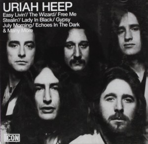 Audio CD Uriah Heep. Icon: Uriah Heep