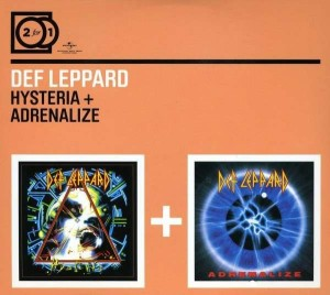 Audio CD Def Leppard. Hysteria, Adrenalize