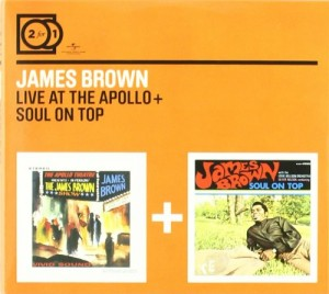 Audio CD James Brown. Live At The Apollo/ Soul On Top