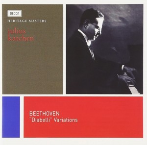 Audio CD Julius Katchen. Beethoven: Diabelli Variations