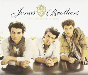 Audio CD Jonas Brothers. Lines, Vines And Trying Times