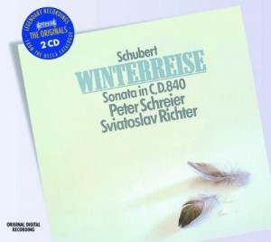 Audio CD Schubert. Winterreise, Piano Sonata in C, D840