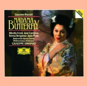 Audio CD Giuseppe Sinopoli. Puccini: Madame Butterfly