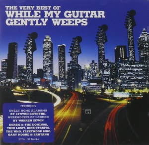 Audio CD Various Artists. While My Guitar Gently Weeps