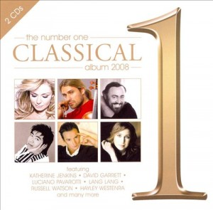 Audio CD Various Artists. The No.1 Classical Album 2008