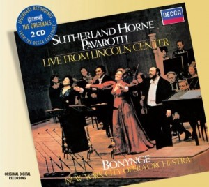 Audio CD Various Artists. Live From The Lincoln Centre