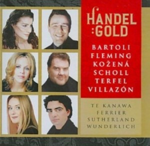 Audio CD Various Artists. Handel Gold - Handel's Greatest Arias