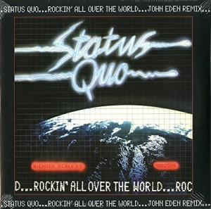 LP Status Quo. Rockin' All Over The World (LP)