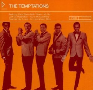 Audio CD The Temptations. Icons