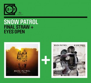 Audio CD Snow Patrol. Final Straw/ Eyes Wide Open