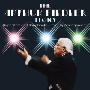 Audio CD Arthur Fiedler. Superstars and Songbooks - Pops By Arrangement