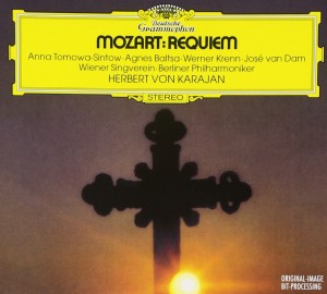 Audio CD Herbert von Karajan. Mozart: Requiem;