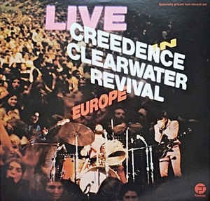 Audio CD Creedence Clearwater Revival. Live In Europe