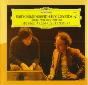 Audio CD Claudio Abbado. Bartok: Piano Concertos Nos 1 & 2, Two Portraits