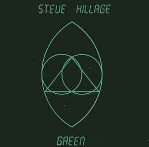 Audio CD Steve Hillage. Green