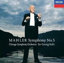 Audio CD Georg Sir Solti. Mahler: Symphony No.5