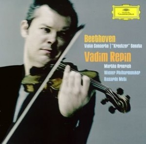 Audio CD Vadim Repin. Beethoven: Violin Concerto in D