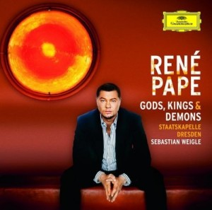 Audio CD Rene Pape. Gods, Kings & Demons (Opera Arias)