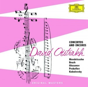 Audio CD David Oistrakh. Concertos And Encores