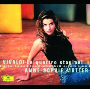 DVD + Audio CD Antonio Vivaldi, Anne-Sophie Mutter. The Four Seasons.