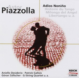 Audio CD Astor Piazzolla. Adios Nonino