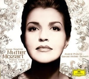 Audio CD Anne-Sophie Mutter. Mozart: Piano Trios K. 548, 542 & 502