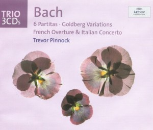 Audio CD Trevor Pinnock. Bach: Goldberg Variations; Italian Concerto