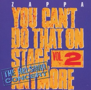 Audio CD Frank Zappa. You Can't Do That On Stage Anymore, Vol. 2