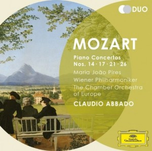 Audio CD Claudio Abbado. Mozart. Piano Concertos Nos.14, 17, 21 & 26