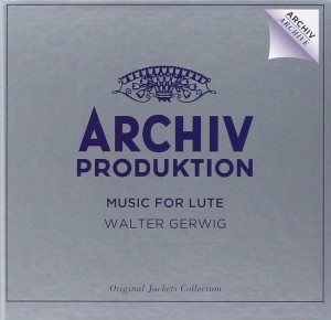 Audio CD Various Artists. Music For Lute