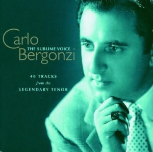 Audio CD Carlo Bergonzi. The Sublime Voice