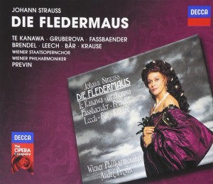 Audio CD Andre Previn. Strauss, J.: Die Fledermaus