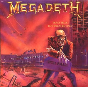 Audio CD Megadeth. Peace Sells... But Who's Buying?