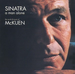 Audio CD Frank Sinatra. A Man Alone