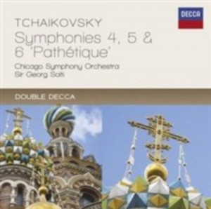 Audio CD Sir Georg Solti. Tchaikovsky: Symphonies Nos.4 - 6