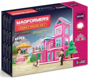 ����� ��������� �����������: Magformers Sweet House Set