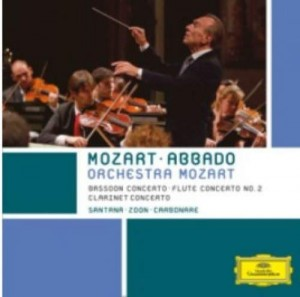Audio CD Claudio Abbado. Mozart: Clarinet Concerto. Bassoon Concerto
