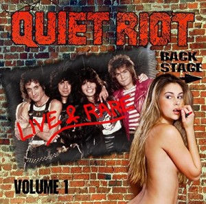 Audio CD Quiet Riot. Live & Rare. Volume 1