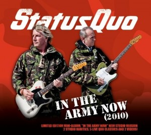 Audio CD Status Quo. In The Army Now 2010
