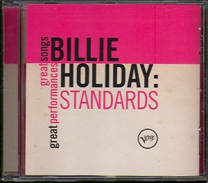 Audio CD Billie Holiday. Standards