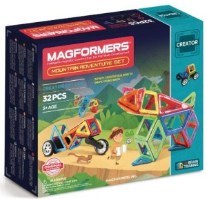 ����� ��������� �����������: Magformers Adventure Mountain 32 set