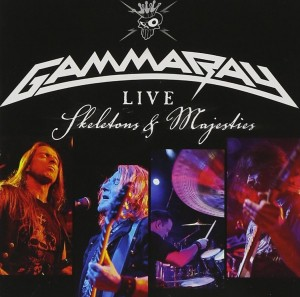 Audio CD Gamma Ray. Live - Skeletons and majesties